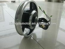 12'' E-Bike Geared Wheel Hub Motor/E-bicycle Brushless Integrated Wheel Hub Motor