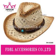 FH - 0305Fashion ladies paper straw cowboy hat