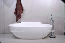 Hot Sell Stone Bathtub with Free Standing Bathtub BS-8607