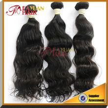 Top grade 100% human hair waving Brazilian Weft Hair