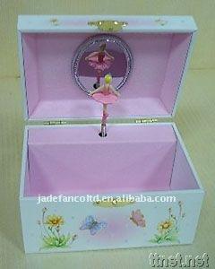 Jewery music box with dancer