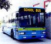 school bus led sign for destination