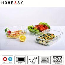 rectangular glass baking plate