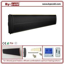 infrared black strip heater terrace heater