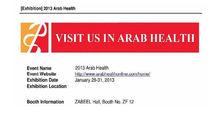 2013 ARAB HEALTH 28-31 January