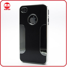 Wholesale Guangzhou Manufacturer Aluminum Chrome Cover, Western Cell Phone Case for Iphone 4 4S