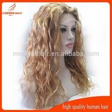 High quality #12 curly Jewish wig kosher wigs ,jewish kosher human hair 4*4inch silk top