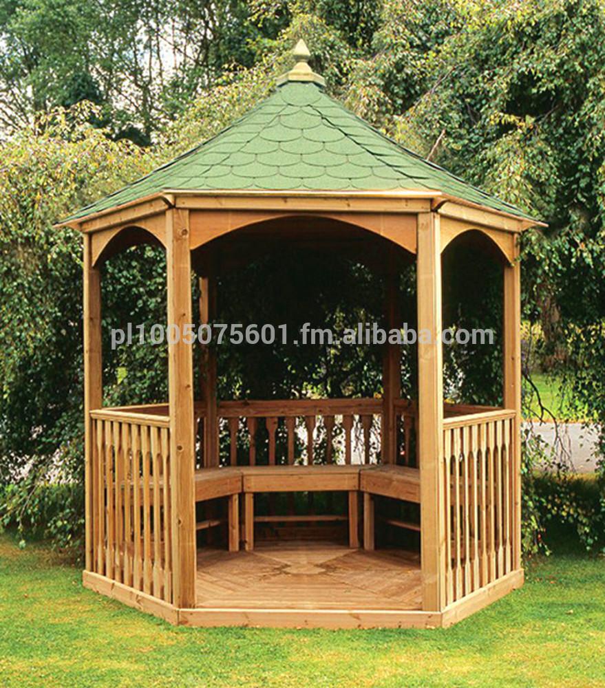 Wooden Pavilion Gazebo Brompton. Timber Canopy