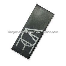 printed black silk label clothes