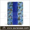 Fashionsble snake pattern genuine leather case for ipad mini
