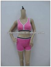 comfortable modal slim with bra pad,sport bra set vest,seamless polyester/spandex new style tank top wear as underwear