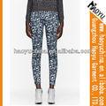 Fashional designer novo estilo made in china leopard mulheres jeans impresso por sublimação( hyw1228)