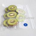 Congelado plástico alimentos Vacuum vedação limpar Zip bloqueio Bag