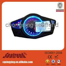 12 V universal digital motorcycle lcd speedometer