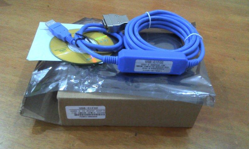 Omron USB-CIF02 programming cable