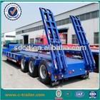Multi axle hydraulic low bed trailer