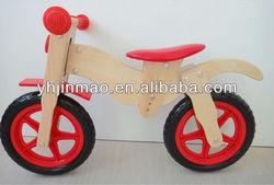 2014 newest wooden balance bike motor bike