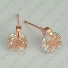 boys skull earrings