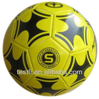 cheapest price machine sewn PVC soccer ball