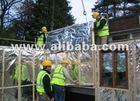 Eco-Brite, aluminum composite foil for building insulation