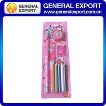 color pensil recycled stationery set