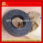 QTD rubber double lip oil seal, NBR Viton Silicone