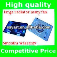 2013 New Arrival Notebook radiator / usb laptop air cooler pad/ ultra thin laptop cooler pad
