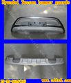 Hyundai tucson 2013 pára-choques dianteiro e traseiro guardas, guarda de carros protetores para tucson 2013, hyundai tucson 2013 acessórios do carro