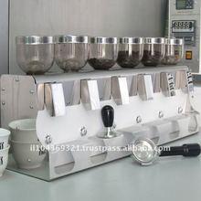 Шесть угловая шлифовальная машина кофе в зернах несколько коническая