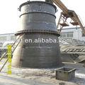Grande tubo de aço de diâmetro Industrial chaminé