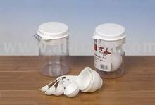 8pcs Plastic Measuring Cup Set