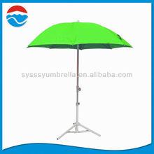 180CM fresh color telescopic small beach umbrella