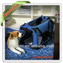 Lightweight fabric open top pet carrier dog