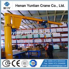Workshop Arm ZB-A Model Column Swing Pillar Jib Crane, Stainless Steel Crane Swivel