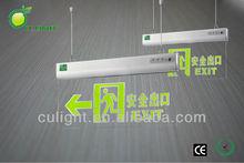 crystal led emergency sign hang lamp & emergency led exit light