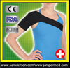 black immobilizing padded foam shoulder support
