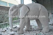 Garden Large Elephant Stone Art Sculpture