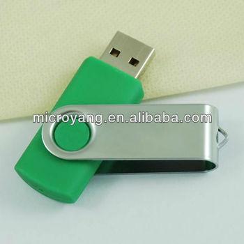customize plastic usb drive flash 1/2/4/8/16/32GB,most popular,hot-selling swivel usb,