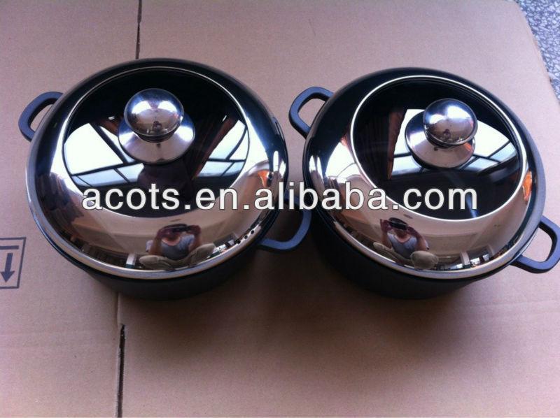 Die-cast aluminum casserole