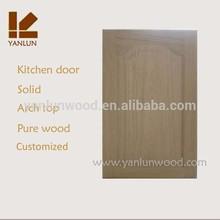 European design solid oak cheap price traditional kitchen entrance door