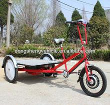 3 Wheel Electric Flatbed Trike