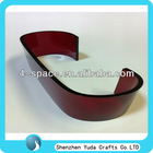 Colored acrylic hot bending in various shapes