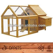 California Wooden Chicken Cage vDFC001&Run