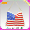 canvas tote US flag ladies bag(NV-B275)