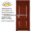 Impiallacciatura di legno naturale porta di legno intagliato sc-w284 pittura