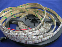 SMD 5050 Flexible Digital WS2811 LED Strip 60leds/m addressable white led strip