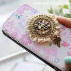 Happymori Design Lovely Cellphone Case Cover for Apple iPhone 4/4s (Made in Korea)