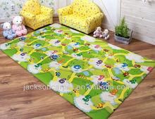 anti-slip latex backed kids mat