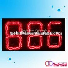 7 segment led display 3 digits