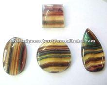 Natural Fluorite Mix Shapes Cabochon Loose Gemstone